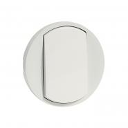 Лицевая панель для выключателя, белая Legrand, Celiane