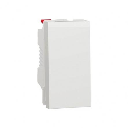 Выключатель одноклавишный Schneider Electric NU310118, 10А 1М (белый) - 1