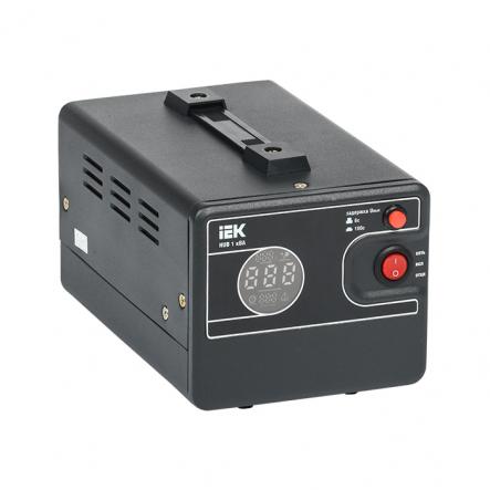 Стабилизатор напряжения переносной HUB 1кВА IEK - 1