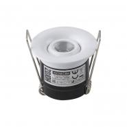 Светильник встраеваемый  HOROZ Power Led 1W бел. 4200K d-41мм 70Lm 016-039-0001-030