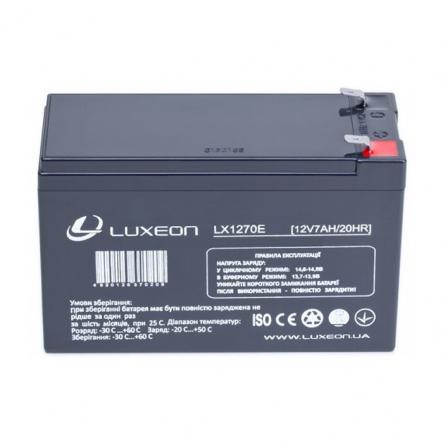 Аккумуляторная батарея 12V 7,0Ah LX 1270E LUXEON - 1