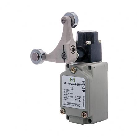 Выключатель концевой Промфактор ВП 15М 4234 рычаг поворотный Y-образный с роликами IP67 - 1