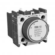 Приставка IEK  ПВИ-12 задержка на вкл. 10-180сек. 1з+1р