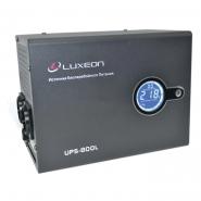 Источник бесперебойного питания UPS 800 L правильная синусоида внешняя батарея
