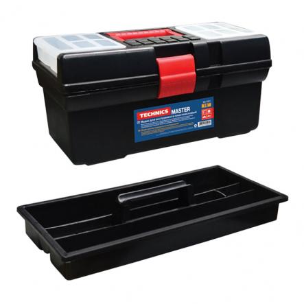 Ящик для инструменментив пластмассовый 16 Master 410х220х200мм - 1