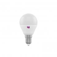 Лампа LED сфера 4W PA10 E14 3000K D45 ELM