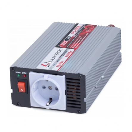 Инвертор IPS-600S 12-220В , 300Вт, защ.от корот.замык., унив.розетка (чистая синусоида) Luxeon - 1