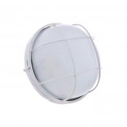 Светильник влагостойкий MIF 012 100W круг белый с решеткой