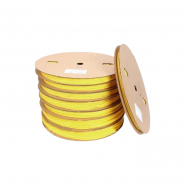Трубка термоусадочная ТТУ 20/10 жёлтая 100 м.рул ИЕК