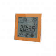 Термо-гигрометр цифровой с часами Т-06 Украина
