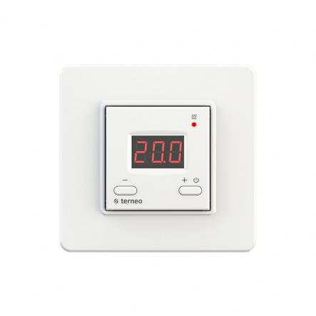 Терморегулятор TERNEO terneо st 5-40град 16А для теплого пола - 1