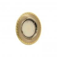 Светильник точечный Delux HDL16138R MR16 12V французское золото