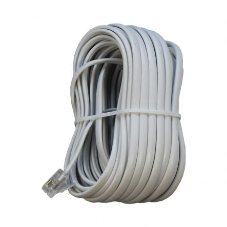 Телефонный кабель TC6P4C-7.5M, 6P4C, 7.5 м - 1