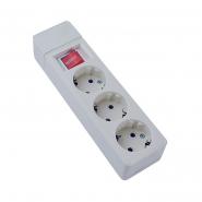 Кассета 3гн (2P+PE+выкл.) КП-3-В-07 АСКО