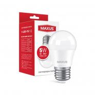 Лампа   MAXUS 1-LED-741 G45 5W 3000K 220V E27