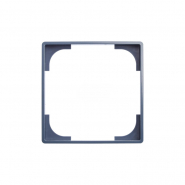 Декоративная вставка синяя Basic 55