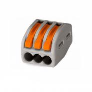 Клема быстрого монтажа СМК 222-413 3х2,5мм (с рычажком) IEK
