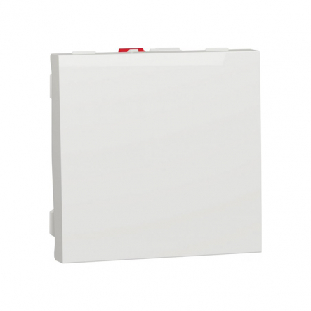 Выключатель одноклавишный Schneider Electric NU320118, 10А 2М (белый) - 1