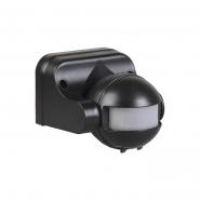 Датчик движения IEK ДД 009 черный 1100 Вт радиус 180град.,12м IP44 арт. LDD10-009-1100-002