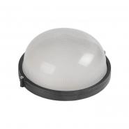 Светильник НПП 1301 60W черн.круг метал. корпус IP54