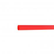 Трубка термоусадочная д.6.4 красная с клеевым шаром АСКО