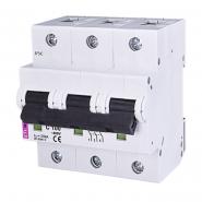 Автоматический выключатель ETI С 100A 3p 10kA 2135732