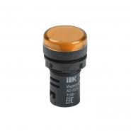 Светосигнальный индикатор IEK AD22DS (LED) матрица d22мм желтый 12В AC/DC