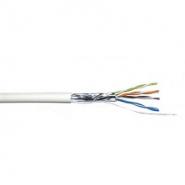 Провод для компьютерных сетей экранированный внутренний КВПЭВ (100) 4х2х0,5 (F/UTP cat.5E)