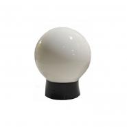 Светильник шар опаловый гладкий Е-27,15W 150*150*185mm 515 АСКО