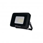 Прожектор LL-851  10W  6400K 230V (111*100*25mm) Черный  IP 65