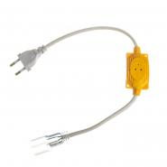 Адаптер питания для LED NEON 5mm+коннектор 2pin 220V #51/1