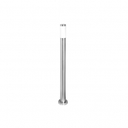 Светильник садово - парковый POLE 1100 E27 нержавеющая сталь DELUX