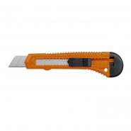 Нож пистолетный 18мм, в пластик.корпусе VOREL