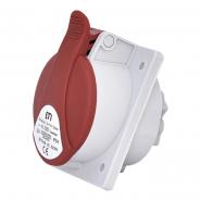 Розетка встраиваемая  EEH-3253  IP67 (32A, 400V, 3P+N+PE) ETIMAT