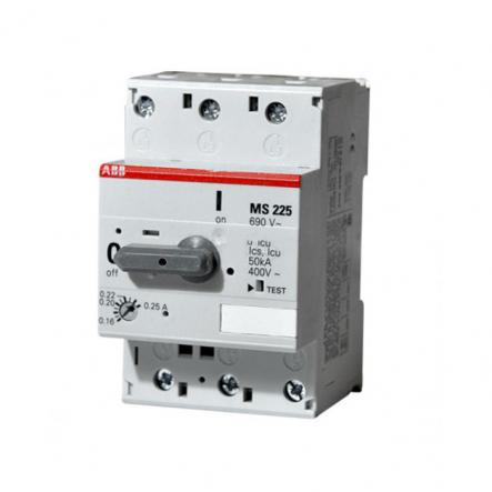 Автомат защиты двигателей АВВ MS 225-25 - 1