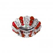 Светильник точечный MR-16 CD2121 50W прозрачный красный хром