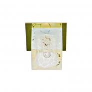 Светильник точечный Feron DL171 G9 35W прозрачный матовый золото