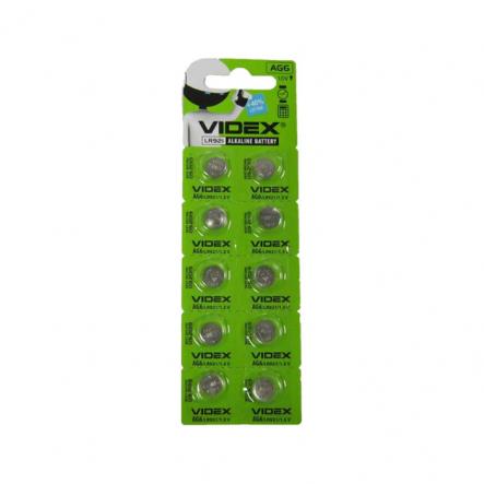 Батарейка G6 VIDEX (LR921) - 1