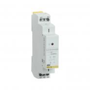 Промежуточное реле IEK OIR 1 конт (16А). 12 В AC/DC  Интерфейсное на Дин рейку OIR-116-ACDC12V