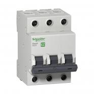 Автоматический выключатель EZ9  3Р 6А  С  Schneider Electric