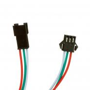 Соединитель №22 RGB Smart strip (комплект  штекер + гниздо)