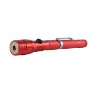 Фонарь АСКО ДМ-49  с выдвижным магнитом красный