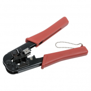 Инструмент обжим для RJ-45,12,11 без храп мех сине-оранж ITK
