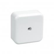Коробка КМ41206-01 расп. для о/п 50х50х20мм белая (с конт.гр)