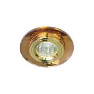 Светильник точечный  Feron 8050-2 коричневый/золото