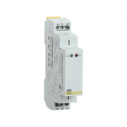 Импульсное реле IEK ORM. 1 конт. 12-240 В AC/DC ORM-01-ACDC12-240V - 1