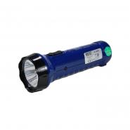 Фонарь HOROZ  аккумуляторный Power Led HL3097L 1W синий 73Lm батарейка 0,42Ah