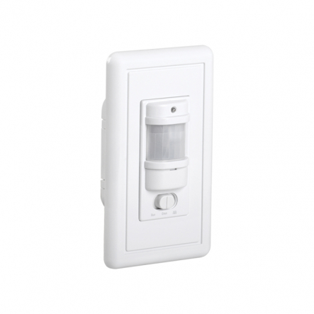 Датчик движения IEK ДД 028 белый 1200 Вт радиус 140град.,9м IP20 арт. LDD12-028-1200-001 - 1