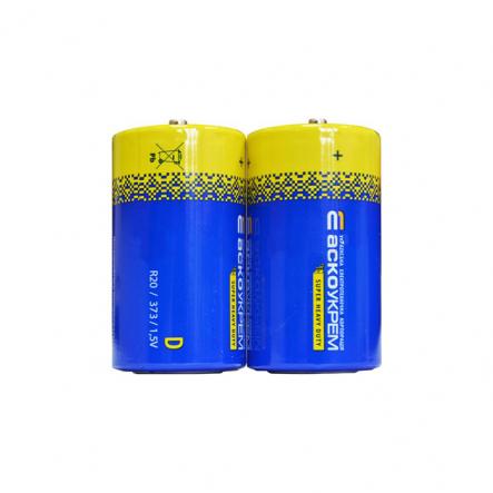Батарейка солевая D.R20 - 1