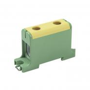 Клемма вводная силовая КВС 16-95 кв.мм. PE жёлто-зелён. IEK